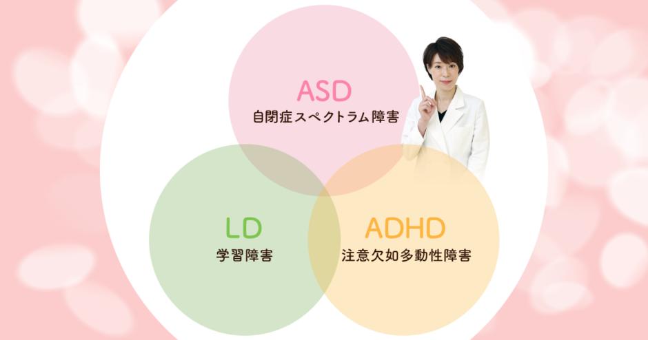発達障害の3つの種類